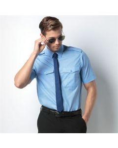 Pilot shirt short sleeved
