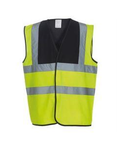 Hi-vis 2-band-and-braces waistcoat